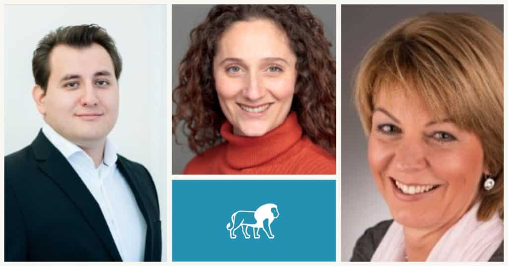 3 new HR Experts Lionstep