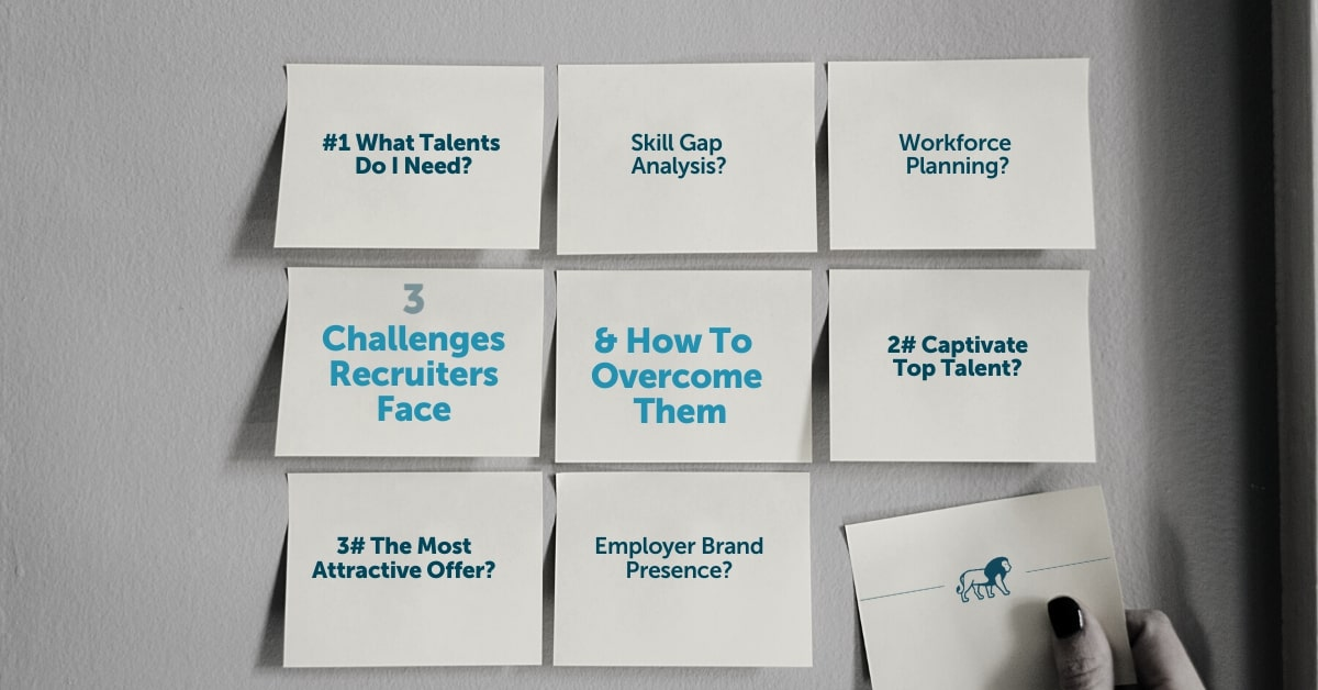 3 challenges recruiters face