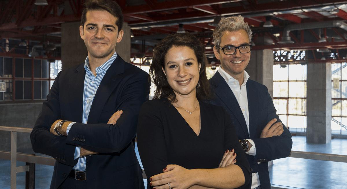 José Parra Moyano, Claudia Winkler und Alexander Mazzara