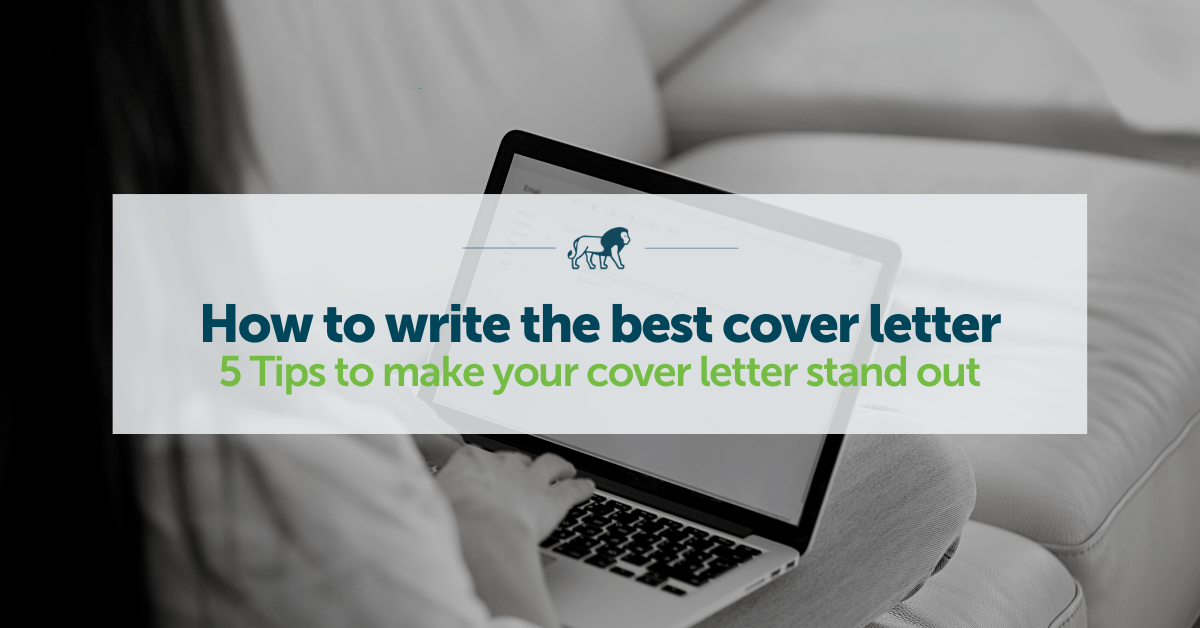 Tips For Writing A Good Cover Letter from www.lionstep.com