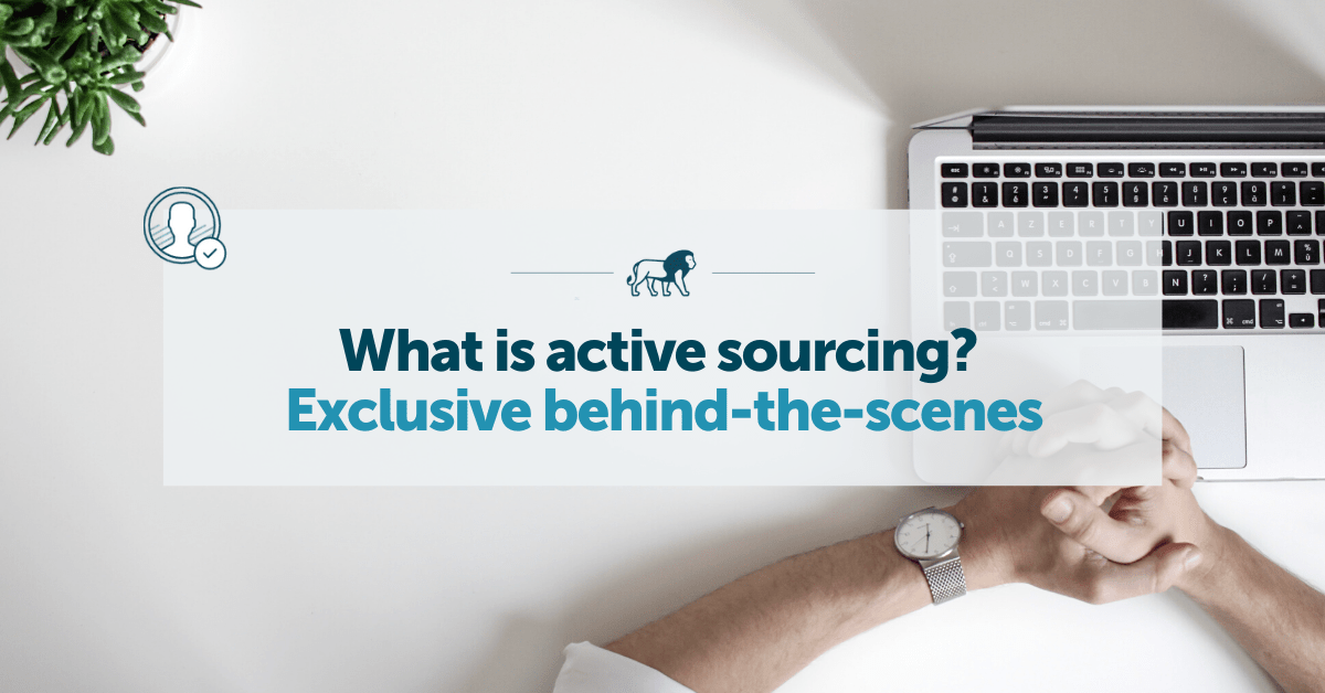Active Sourcing explained