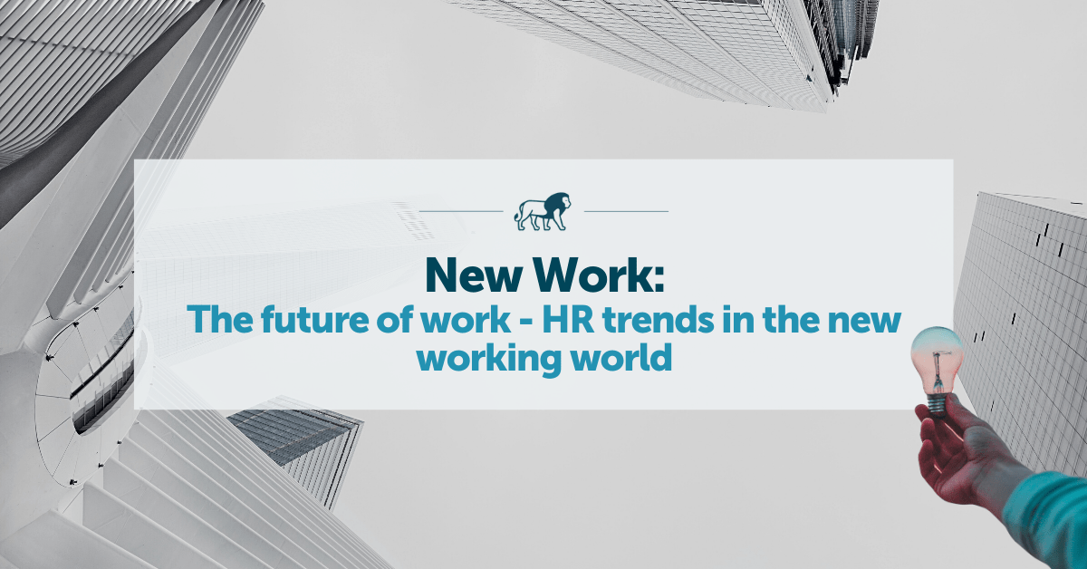 Future of work - HR Trends in New Work
