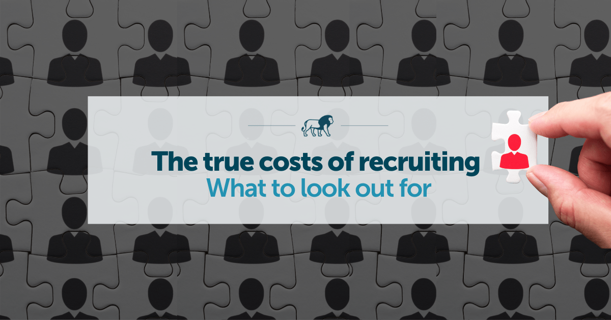 costs of recruiting