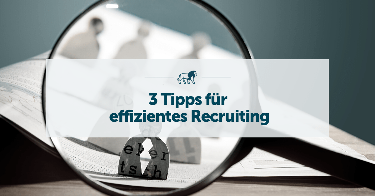 effizientes recruiting